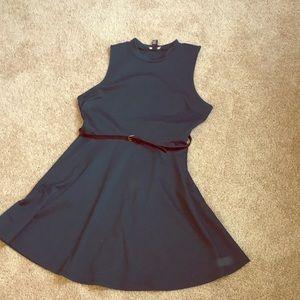F21 Teal Dress